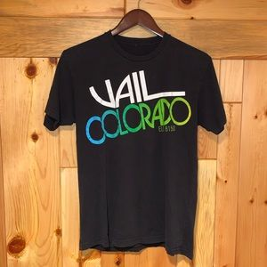 Vintage 90's VAIL COLORADO Retro Ski T-Shirt S/M